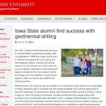 ISU Alumni Article