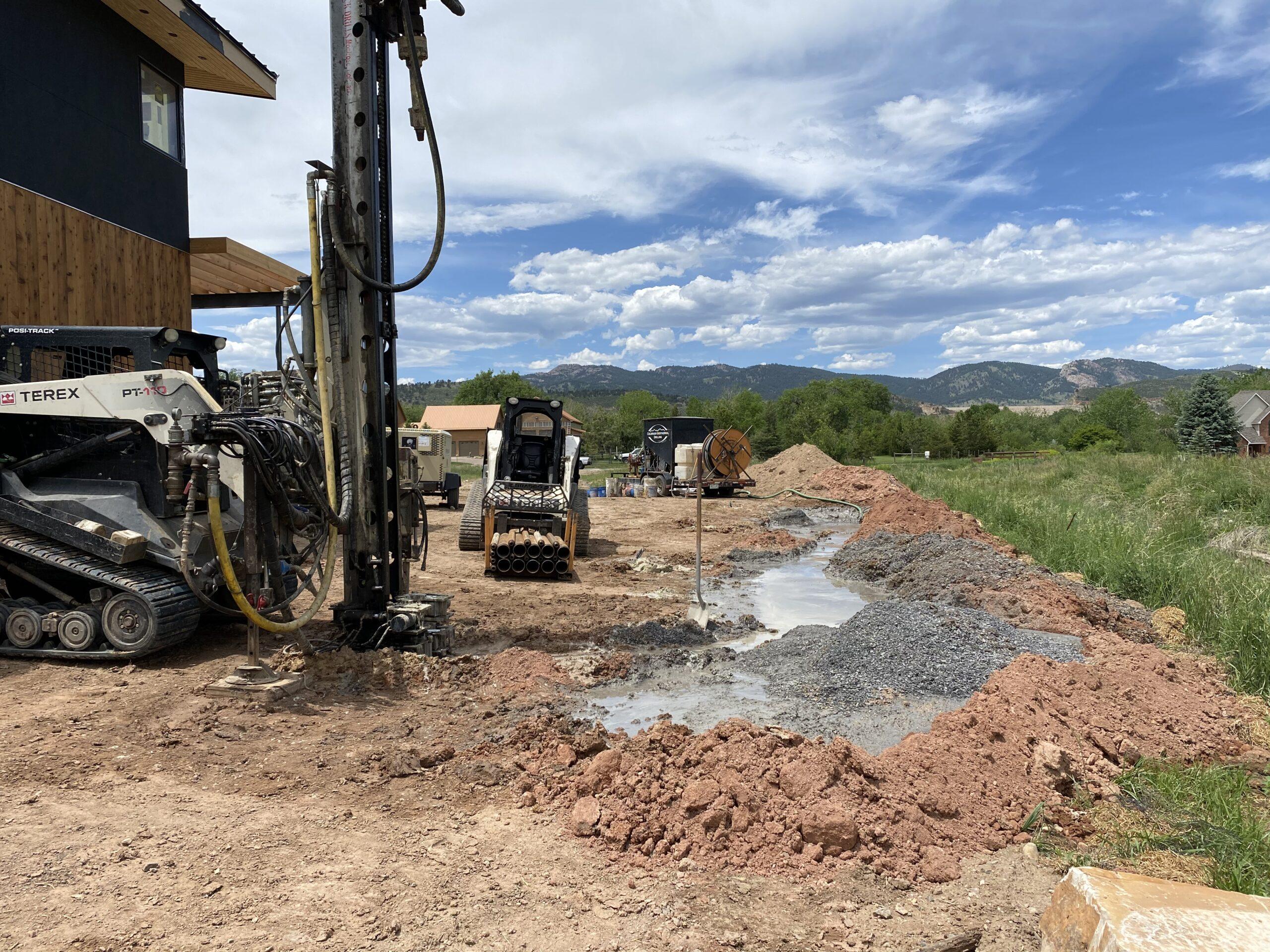 Geothermal Installation Boulder, CO 80503