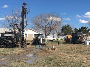 Geothermal Retrofit in Farmhouse Ft Lupton 80621