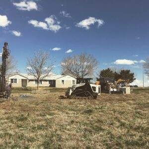 Geothermal Retrofit in Farmhouse Ft Lupton, CO 80621