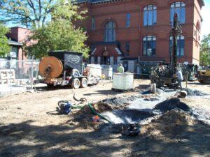 Geothermal Installation for Historic Building, Denver CO 80218