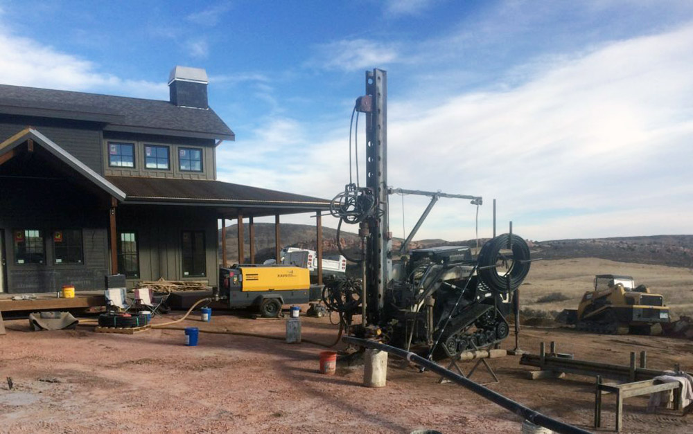 Geothermal Installation Geothermal Drilling, Firestone 80603