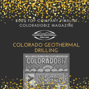 Colorado Geothermal Drilling a Finalist for ColoradoBiz's Top Company in Energy